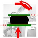 Röntgeninspektion mittels Schrägdurchstrahlung